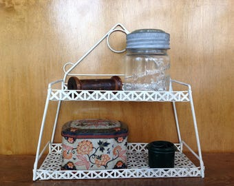 Vintage Metal Shelf