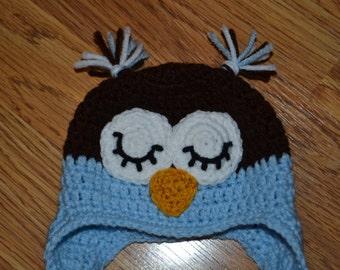 Sleeping Owl Hat