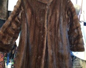 Stunning Vintage Mink Fur Coat