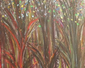 Forest original painting