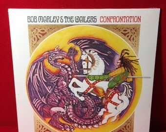 Bob Marley & The Wailers: Confrontation LP (180 Gram Vinyl) ~ NEW Reggae Record