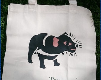 Tasmania Devil tote bag