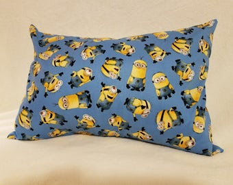 Minion Pillows- Various Sizes- Envelope Back