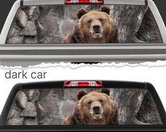 Bear Hunter Decal Etsy
