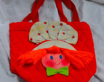 Strawberry Shortcake inspired purse, EDIE creations inc.