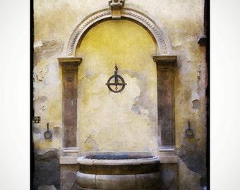 Fontaine, Sienne, Italie
