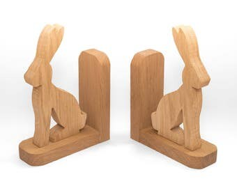 Hare Book Ends