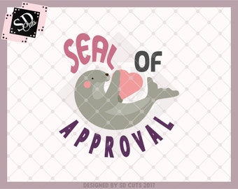 seal of approval clock