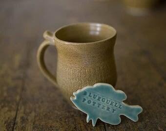 Tan Textured Coffee mug