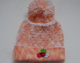 LUXEBAMBINO Newborn Baby  Knitted Hat, gift idea, baby shower gift