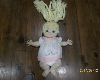 1980's Hand Made Cabbage Patch Look Alike