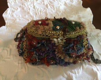 Mary Frances beaded purse