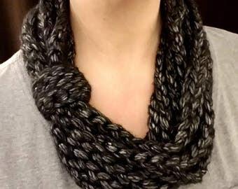 Handmade Crocheted Scarf Cowl