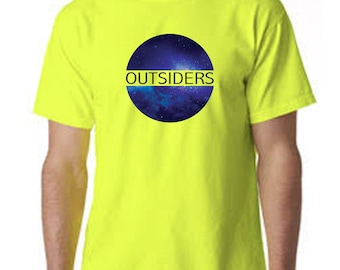Space 'Outsiders' Galaxy Print T-shirt