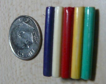 1930's Extruded, Laminated Five Color Celluloid Button Unique