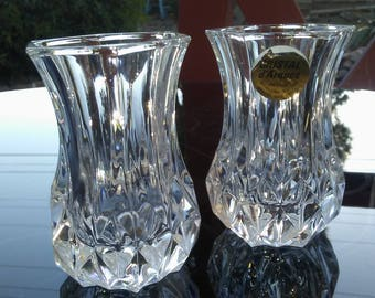 Cristal d' Arques pair of shot glasses