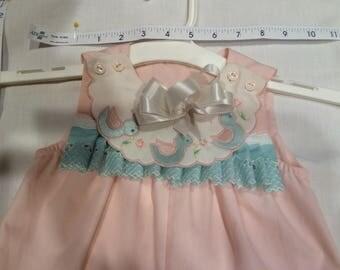 Toddler sunsuit, baby girl, sundress, beachwear, lace