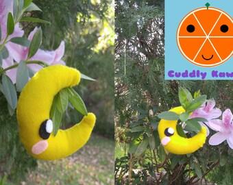 Moon Plushie, Moon Stuffed Animal, Kawaii Moon, Adorable Moon Plushie, Moon Stuffed Toy