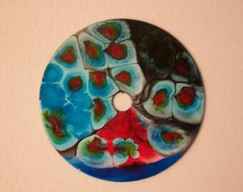 Resin art on Vinyl