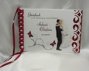 Guestbook for wedding No. G002