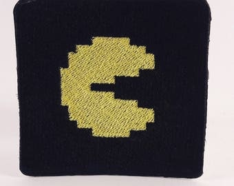 Pacman custom embroidered patch