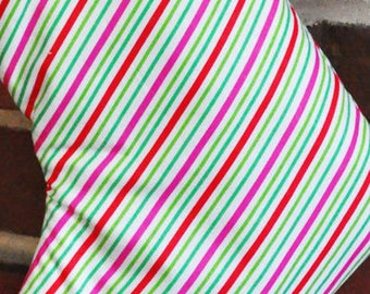 Candy Colores Diagonal Stripe Fabric no.111