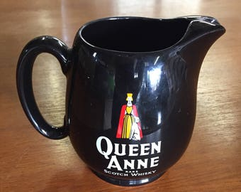 Water Jug - Queen Anne Rare Scotch Whisky (England)