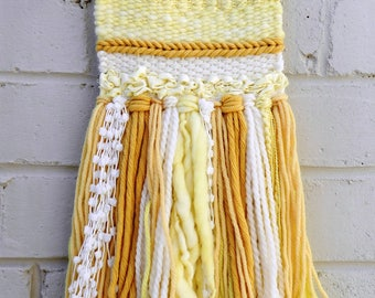 "1# ""Sunshine"" texture/woven wall hanging"