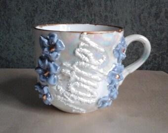 Vintage German Lustreware Mug / Tea Cup