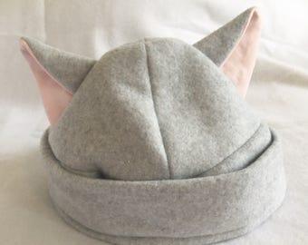 Handmade Cat Ear Hat