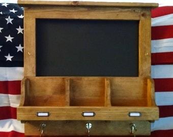 Chalkboard/Coat Rack