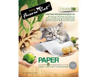 Fussie Cat Natural Paper Litter 7 L
