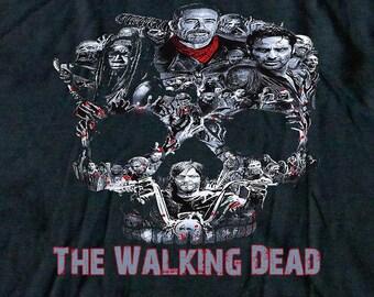 The Walking Dead Walker Skull Negan Rick,Michonne,Daryl,Zombies Women's Tank Top