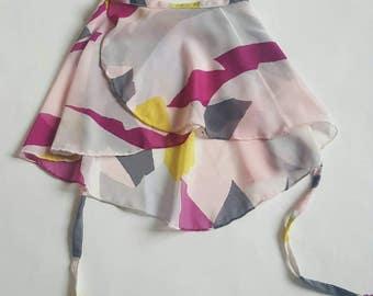 Abstract pink ballet skirt