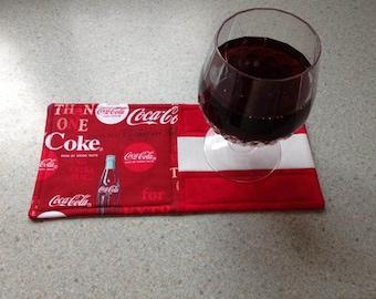 Coca Cola Themed Mug Rugs