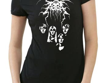 Black Metal logo funny T-Shirt
