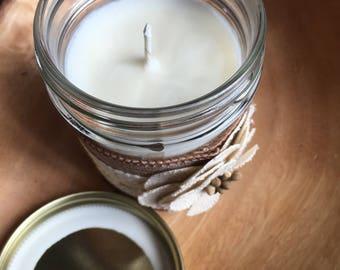 Black Raspberry Vanilla Soy Candle