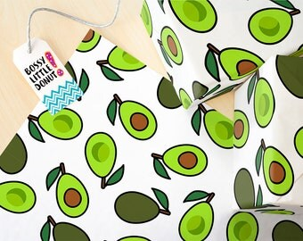 Avocado Wrapping Paper, Avocado gift wrap, wrapping paper, avocado party gift, avocado wrapping paper roll,Avocado gift, avocado, gift wrap