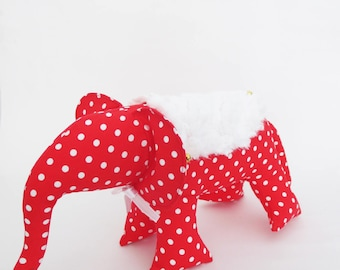 Elephant | Pattern& Red dots