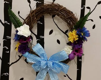 "18"" Grapevine Easter Wreath"
