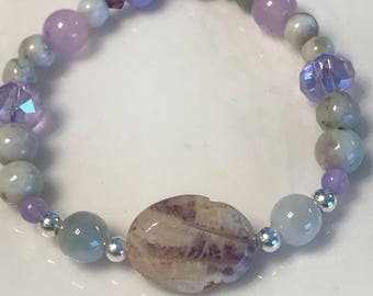 Green jade, purple jade , & peace jade - wisdom, peace , and balance