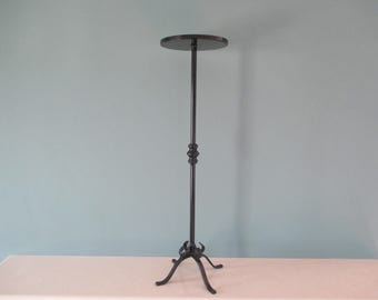 Wrought Iron Traditional Style Display Table