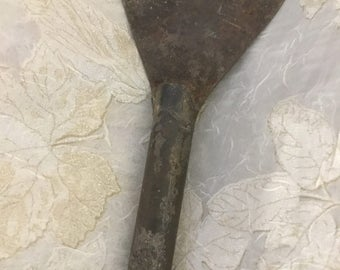 Antique Tool, Carving Piece, Chisel, All Metal, Carving Tool, Leather Work