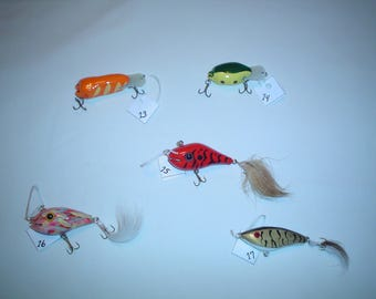 """Bugs and Minnow Lures 2.50"""" - 5"""""""