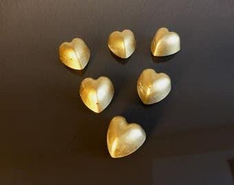 Heart Shimmers concrete bronze