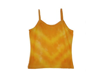 Yoke Tie Dye Cotton X-Small Tank
