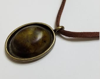 PNW moss necklace (small)