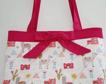 Mexican theme tote
