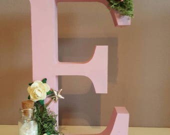 Freestanding personalised letter, Personalised Wooden letter , Wall decor, Bedroom decor, Baby gift, Personalised Letter, Nursery decor