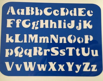 Alphabet Stencil. **Introductory Price!!**